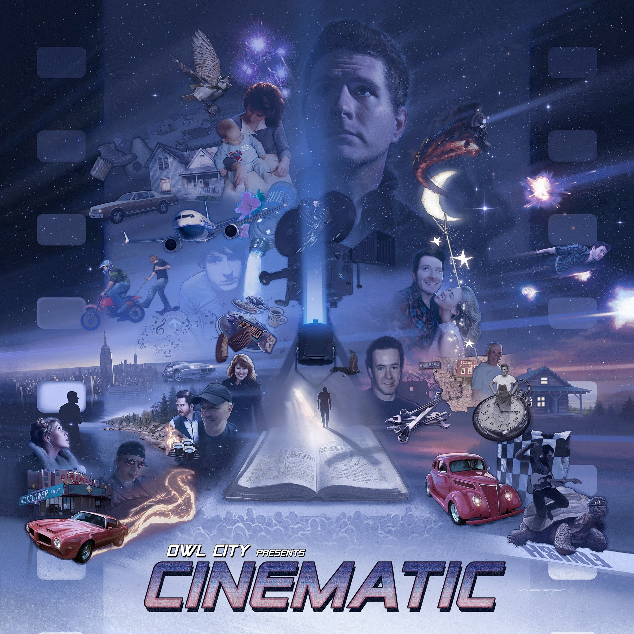 Owl City新专辑《Cinematic》!